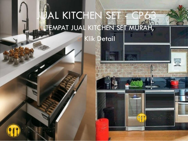 Harga kitchen set murah aluminium for Kitchen set aluminium royal