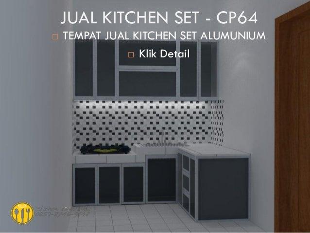 Harga Kitchen Set Murah Aluminium