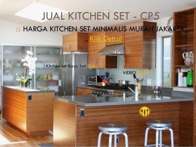 Harga Kitchen Set Murah Bogor