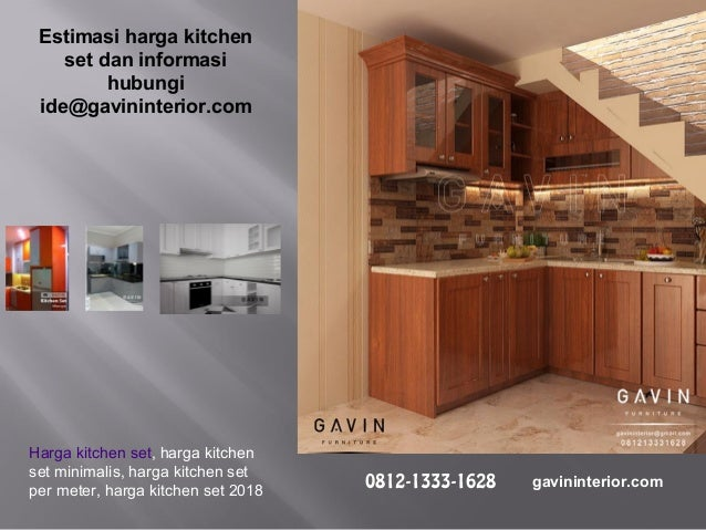 Harga Kitchen Set Per Meter 2018 Finishing Custom