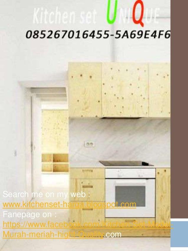 Harga kitchen set sederhana minimalis design interior for Kitchen set jadi murah
