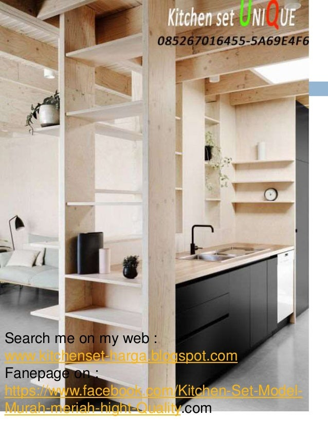 Harga kitchen set sederhana minimalis design interior for Harga kitchen set sederhana