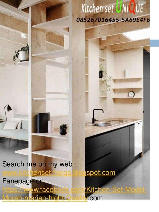 Harga kitchen set sederhana minimalis design interior for Kitchen set jadi