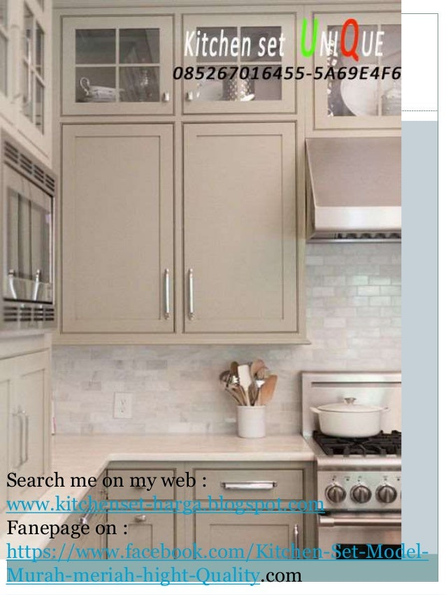 Design Kitchen Set Untuk Dapur Kecil harga kitchen set untuk dapur kecil, harga kitchen set dengan granit,…