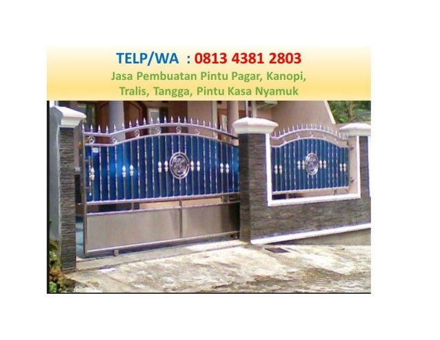 Call Wa 0813 4381 2803 Pagar Stainless Sidoarjo