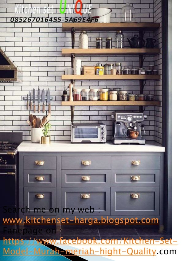 Harga Per Meter Kitchen Set Finishing Duco Kitchen Set Minimalis Can