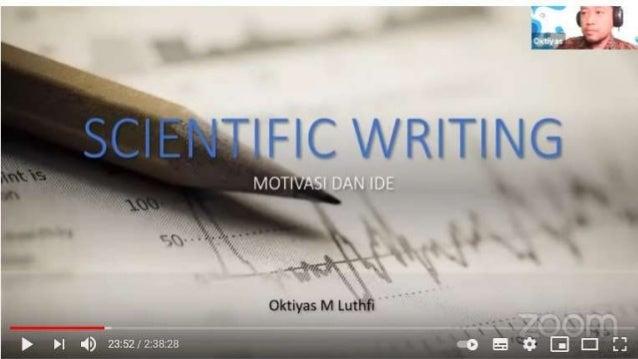 Hari 1 ide dan motivasi menulis