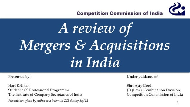 literature review on merger and acquisition in indian banking Banking sector, corporate restructuring, literature review, mergers and acquisitions, strategic benefits.