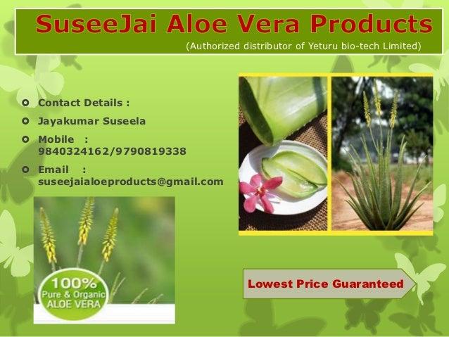 (Authorized distributor of Yeturu bio-tech Limited) Contact Details : Jayakumar Suseela Mobile :  9840324162/9790819338...