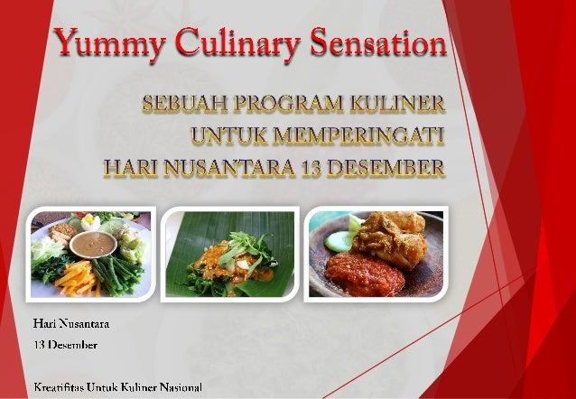 Contoh Proposal Event Kegiatan Acara Kuliner