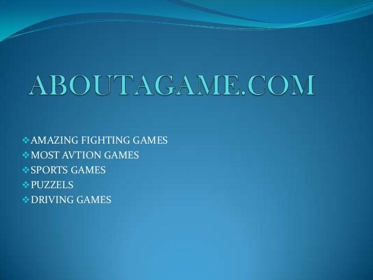 AMAZING FIGHTING GAMESMOST AVTION GAMESSPORTS GAMESPUZZELSDRIVING GAMES