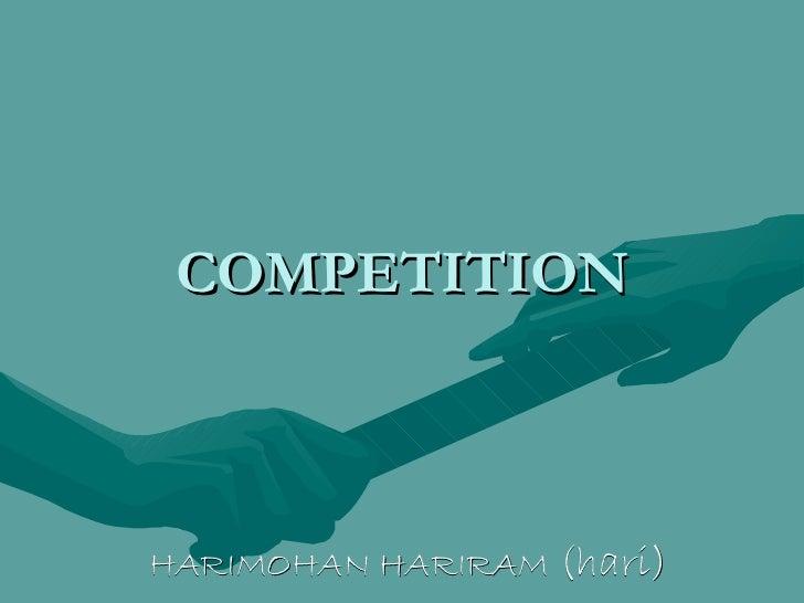 COMPETITION HARIMOHAN   HARIRAM  (hari)
