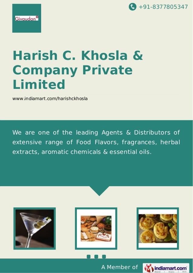 +91-8377805347  Harish C. Khosla & Company Private Limited www.indiamart.com/harishckhosla  We are one of the leading Agen...