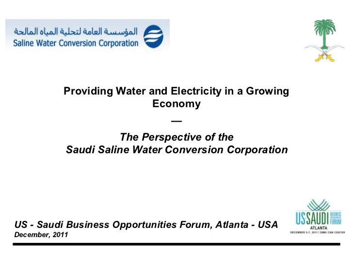 Providing Water and Electricity in a Growing                             Economy                                —         ...