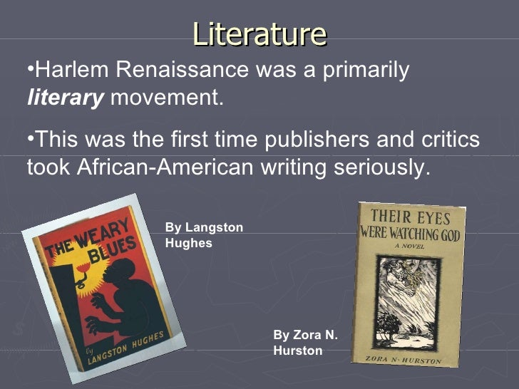 research papers of the harlem renaissance Discover librarian-selected research resources on harlem renaissance from the questia online library, including full-text online books, academic journals, magazines, newspapers and more.