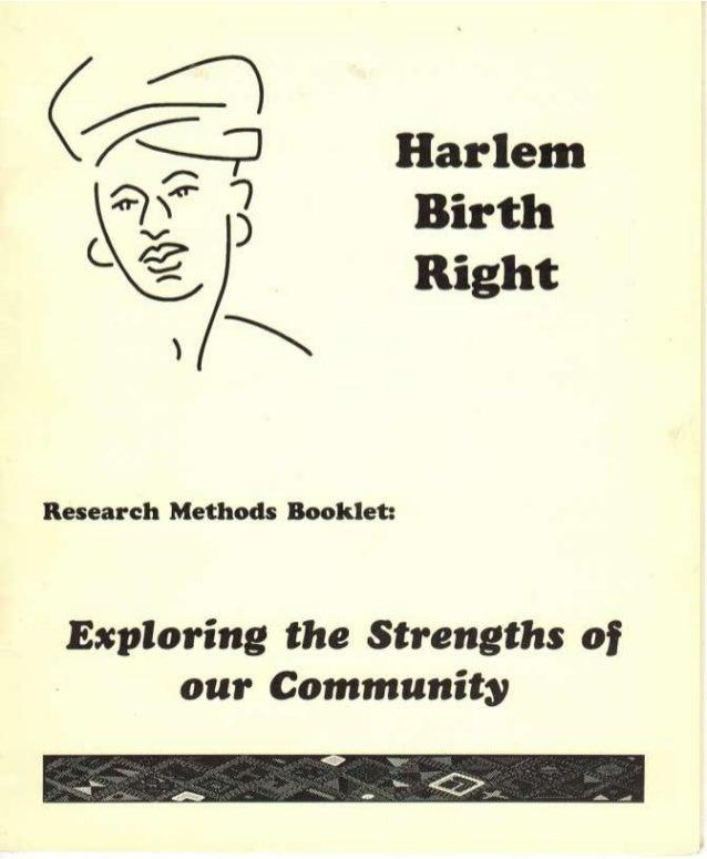 Harlem birth right project