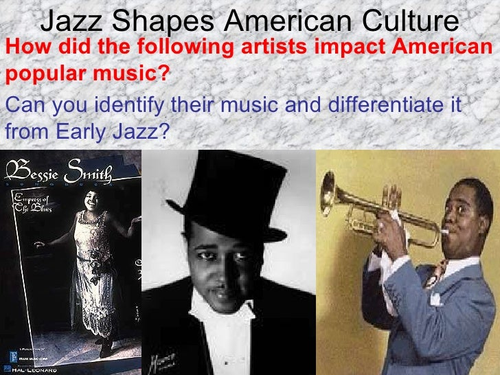 Development of Jazz-Blues within American Pop Culture ...
