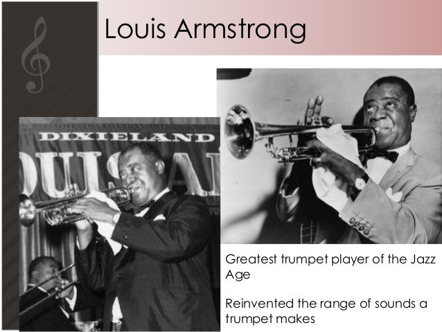 short essay on louis armstrong And chuck mitchell have responded to the issues raised in the below essay   black jazz pioneers as king oliver, louis armstrong, and duke ellington  he  gave a brief history of the label, which was founded in 1918 by.