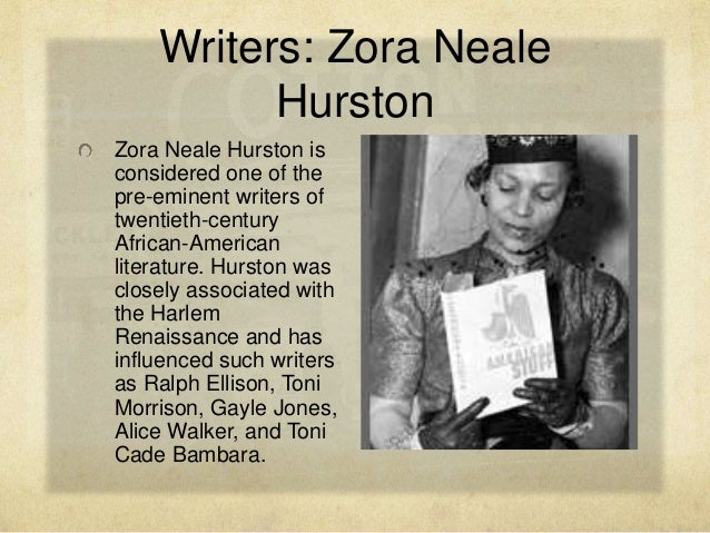 zora neale hurston in the harlem renaissance essay Zora neale hurston hurston was closely associated with the harlem renaissance ms magazine published alice walker's essay, in search of zora neale hurston.