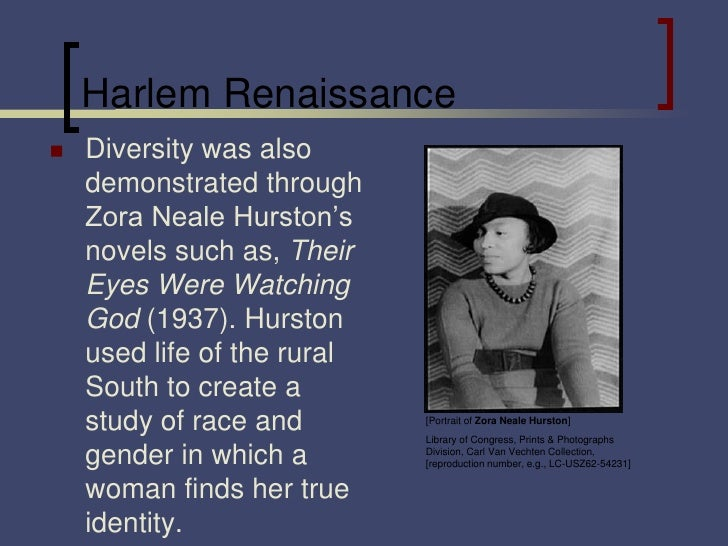 the harlem renaissance authors The harlem neighborhood in new york city became home for many african americans one of the most important authors during the harlem renaissance was langston.