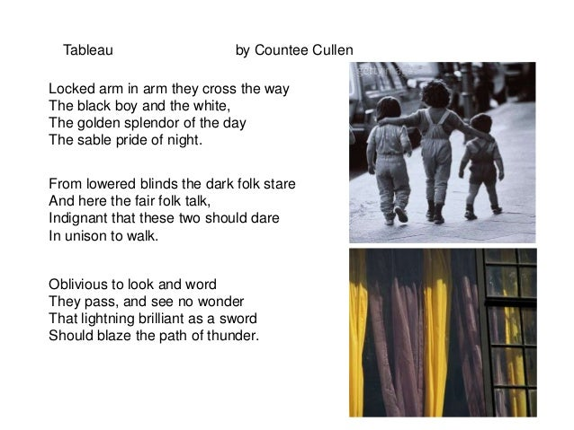 tableau countee cullen analysis
