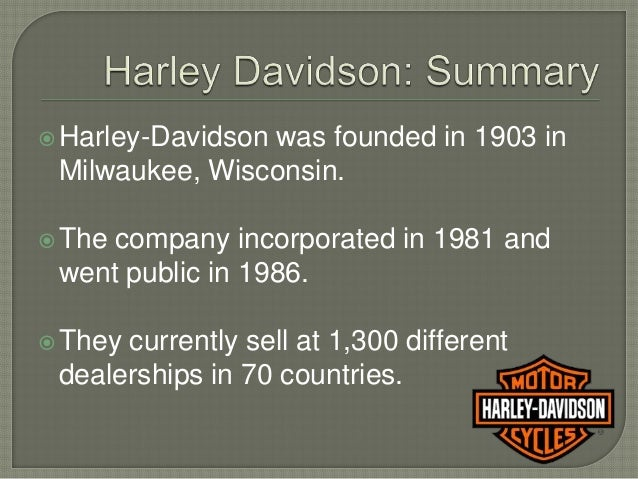 identify harley davidsons strategy Harley-davidson's motorcycle and related products sales have faced considerable pressure in recent years  but it seems more like a hail mary strategy to find out what bikes to build for .
