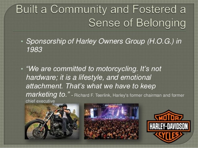 executive summary of harley davidson Read this essay on harley davidson marketing analysis executive summary: harley davidson, inc began operations in the first decade of the 20th century.
