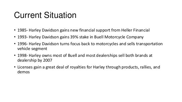 harley davidson case study financial analysis Free case study solution & analysis executive summary of harley-davidson to : harley-davidson is the 100-year-old.