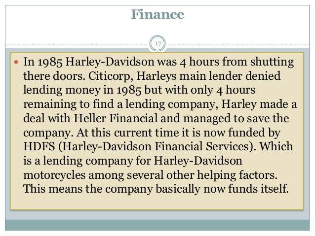 Harley davidson presentation