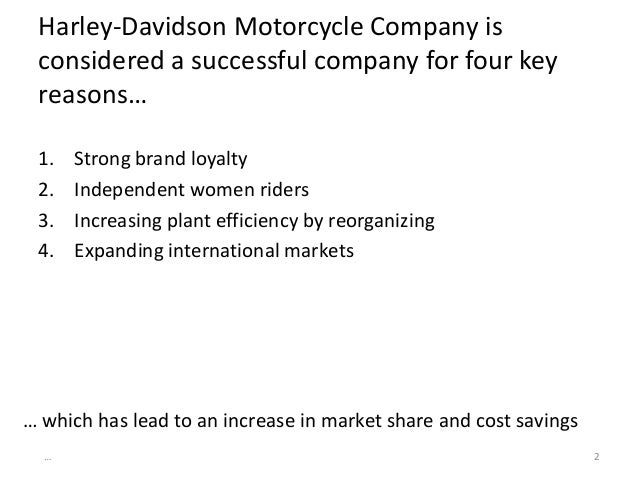 harley davidson internal and external factor swot analysis Marriott international company profile - swot analysis: marriott international is the largest hotel company worldwide since its acquisition of.