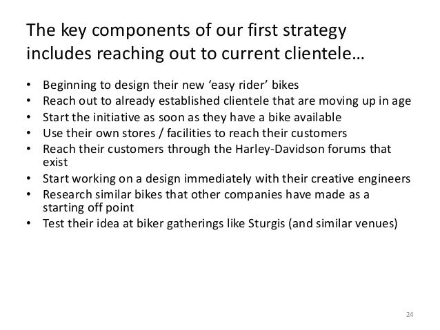 strategic audit of harley davidson inc I current situation 3 a current performance 3 b strategic posture 3 1 mission & objectives 3 2 strategies 4 3 policies 4 4 summary 4 ii corporate.