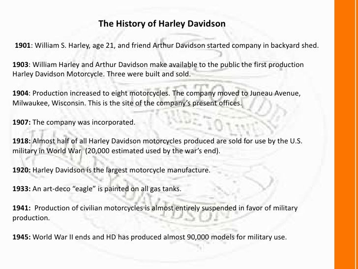 harley davidson inc 2008 thriving through See harley-davidson inc's 10 year historical growth, profitability, financial, efficiency, and cash flow ratios.