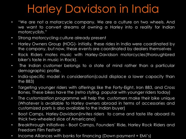 harley davidson pest analysis Full methodological strategic analysis on harley davidson motor cycle company,  for full paper please contact me.