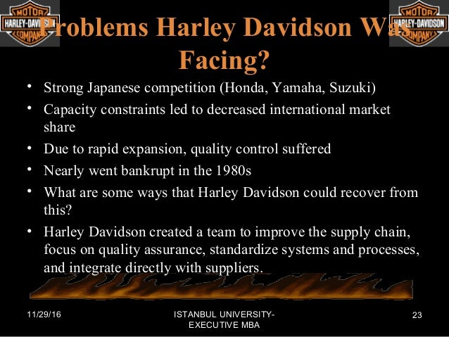 harley davidson supply chain improvements essay Harley davidson analysis essays: over 180,000 harley davidson strategic analysis harley davidson analysis harley davidson's customer-centered supply chain harley davidson str analysis harley davidson analysis harley davidson analysis harley -davidson porter's analysis.