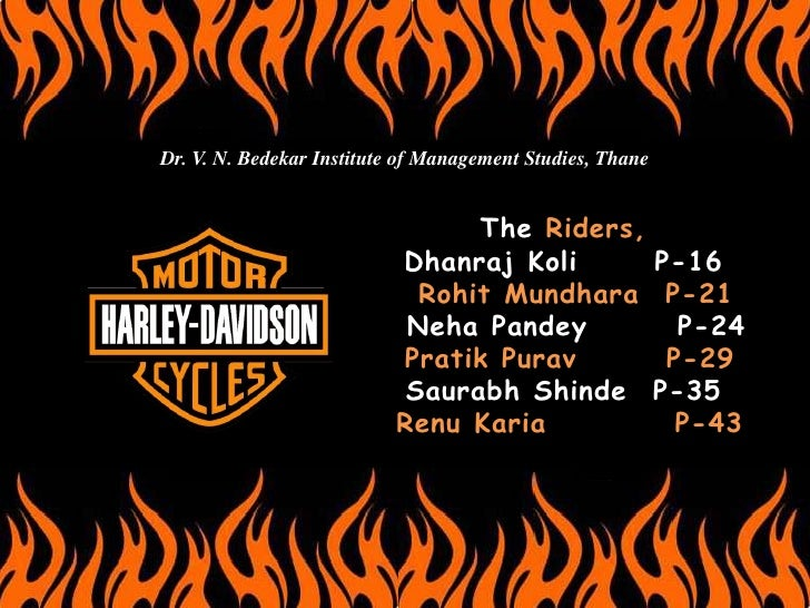 Dr. V. N. Bedekar Institute of Management Studies, Thane                                    The Riders,                   ...