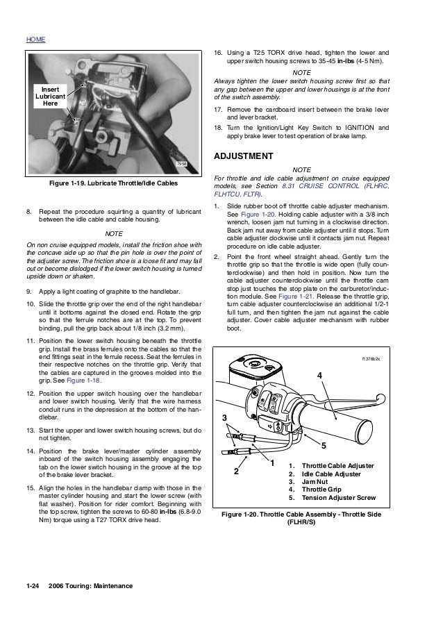 Harley davidson flhrc 2006 maintenance & repair manual-full