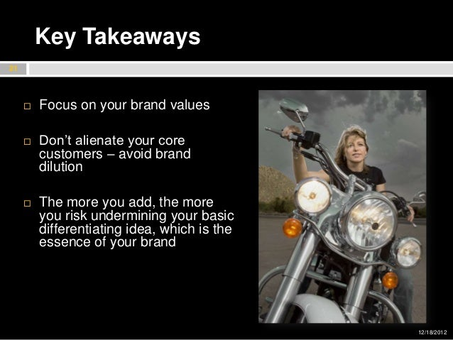 Harley Davidson Values >> Harley Davidson Marketing Portfolio