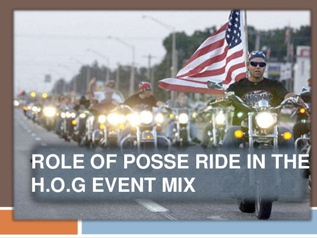 harley davidson posse ride essay · harley davidson: brand management to add long-term value after the evaluation of the last posse ride with harley davidson 12 the harley davidson.
