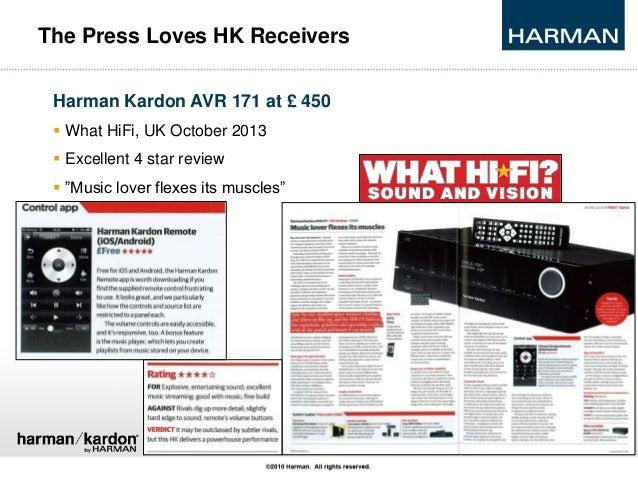 harman kardon stereo receivers 2014