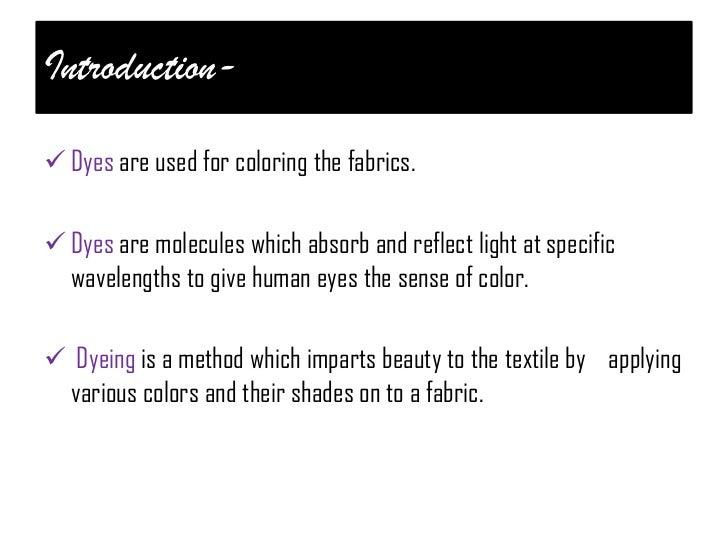 cotton dyeing Slide 2