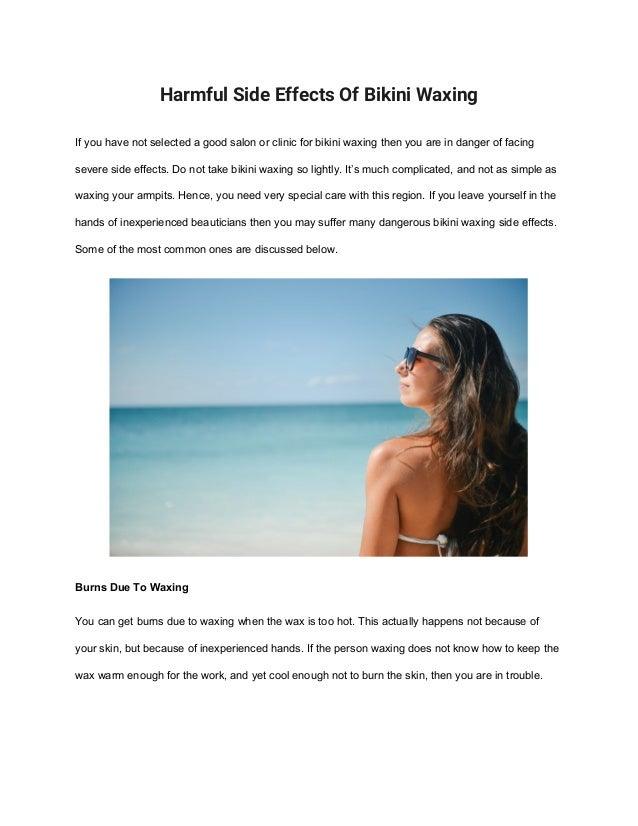 Side Harmful Effects Bikini Of Waxing Ybgf67y
