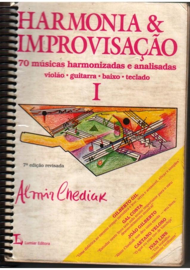 Harmonia e improvisação i (parte 1)
