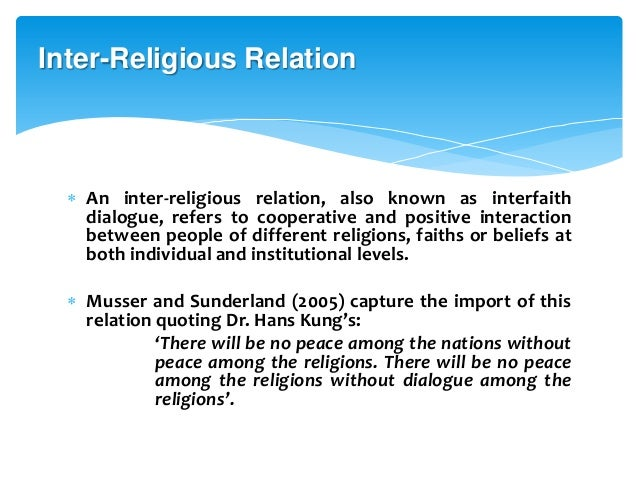 what is harmonizing relationship with others