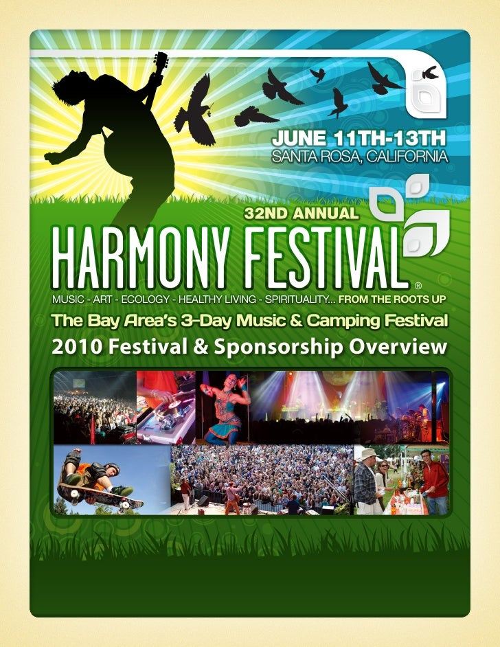 2010 Festival & Sponsorship Overview