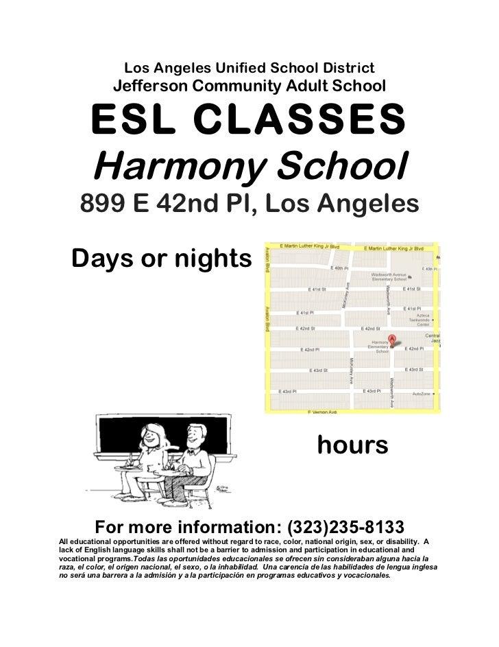 Harmony flyer english
