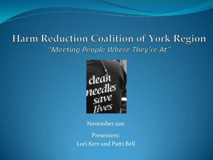 November 2011      Presenters:Lori Kerr and Patti Bell