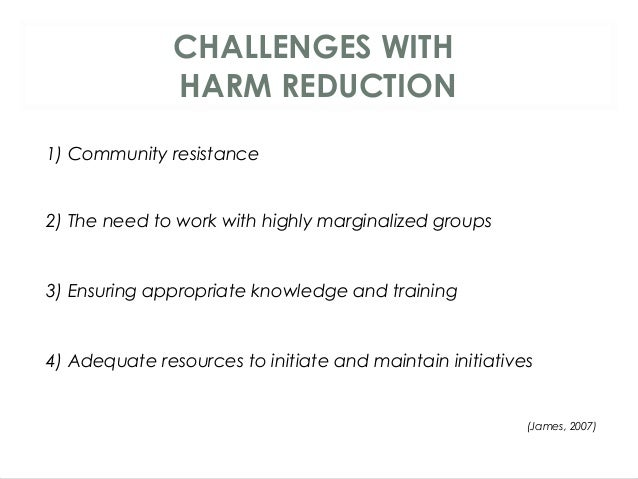 Abstinence vs. Harm Reduction