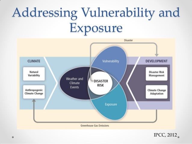 what is the difference between vulnerability and exposure Vulnerability is a state in which an object can potentially be affected by a  force or another.