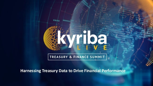 Harnessing Treasury Data to Drive Financial Performance