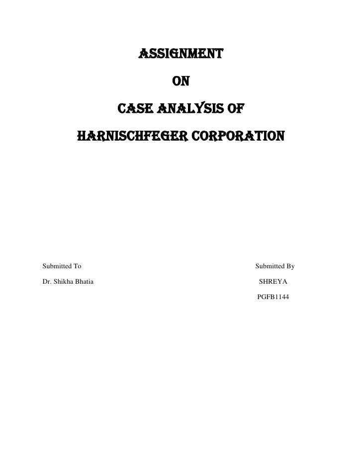 Harnischfeger Corp.